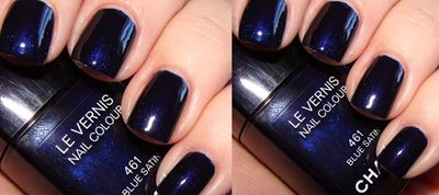 #Nails: Blue is the new black!