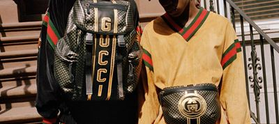 Gucci and Dapper Dan's First Collection