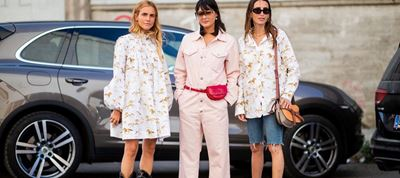 Chic Floral Looks On The Street