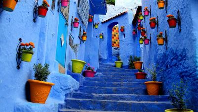 The Blue Streets of Chefchaouen