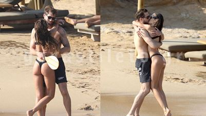 Izabel Goulart & Kevin Trapp: Full in love στο νησί των ανέμων!