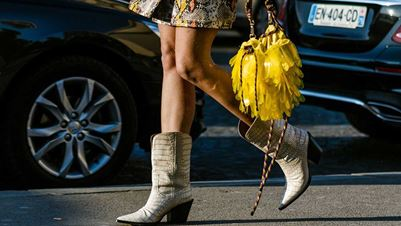 Chic cowboy boots