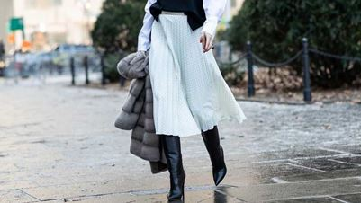 Midi skirt in Autumn