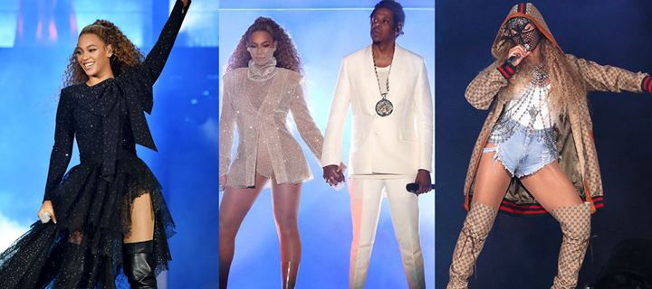 On The Run Tour II: Τα looks της Beyonce on stage, τα δίδυμα και ο Jay-Z