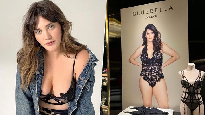 H Ali Tate Cutler είναι το πρώτο plus size model που συνεργάζεται με την Victoria Secret